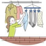 洗濯物 臭いは熱で防ぐ?臭いの原因?臭いが消えない?